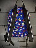 Рюкзак мини Маус голубой, фото 3