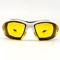 Очки защитные противоосколочные желтые HTools, 82K004, фото 1