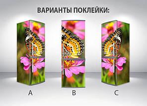 Прикольные Виниловая наклейка на холодильник, Самоклейка, 180 х 60 см, Лицевая (holSS1_fa11570 Животные), фото 2