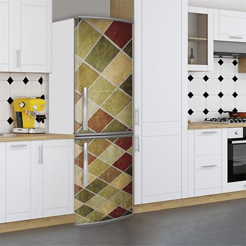 Виниловая наклейка на холодильник, Защитная пленка на холодильник, Самоклейка, 180 х 60 см, Лицевая (holSS1_ts10831 Текстура)