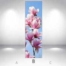Виниловая наклейка на холодильник, Самоклейка, 180 х 60 см, Лицевая (holSS1_fl102697 Цветы), фото 3