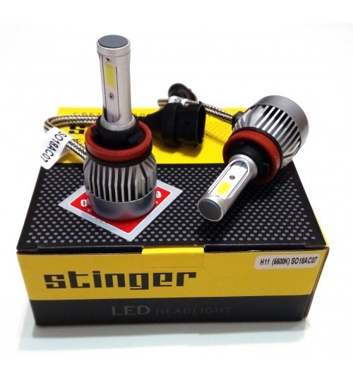 Світлодіодні лампи LED Stinger H4 (5500K, 35W, 12-24v, з пасивним охолодженням)