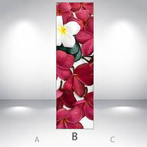 Большие Виниловая наклейка на холодильник, Самоклейка, 180 х 60 см, Лицевая (holSS1_fl102934 Цветы), фото 3