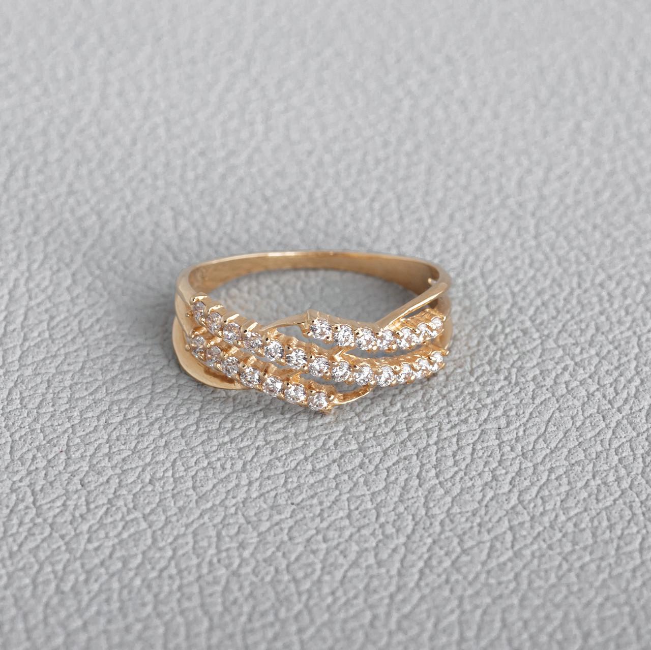Кольцо для помолвки золотое ГП20913