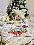 """Наперон\дорожка на стол  """"Щедрий вечір"""", 45х140 см. люрекс, фото 9"""