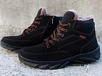 Черевики зимові чоловічі на хутрі утеплені ботинки (сгб-5чн)