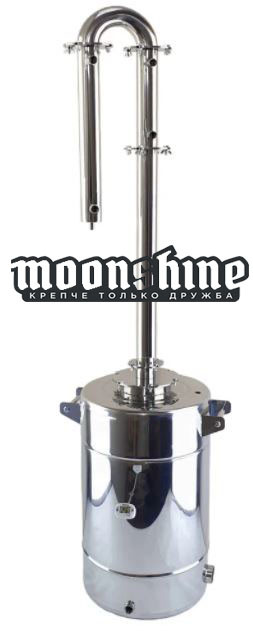 "Дистиллятор Moonshine Medium фланец 2"" c баком 60 литров"