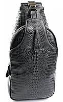 Мужская кожаная сумка 5015 Black. Мужские сумки оптом и в розницу недорого в Украине., фото 1