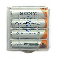 Аккумулятор SONY 4600mAh 4шт AA Ni-MH