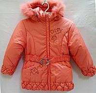 Куртка зимняя с подстежкой р.XL(6лет)