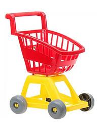 Тележка игрушечная с корзинкой 693 (Красный)