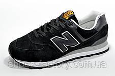 Классические кроссовки New Balance 574 Black, фото 2