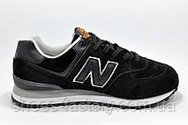 Классические кроссовки New Balance 574 Black, фото 3