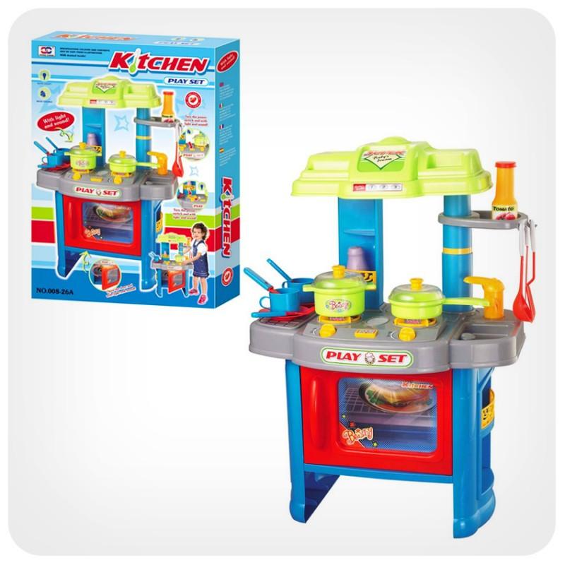 Кухня набор детский с посудой.Детская кухня игровой набор