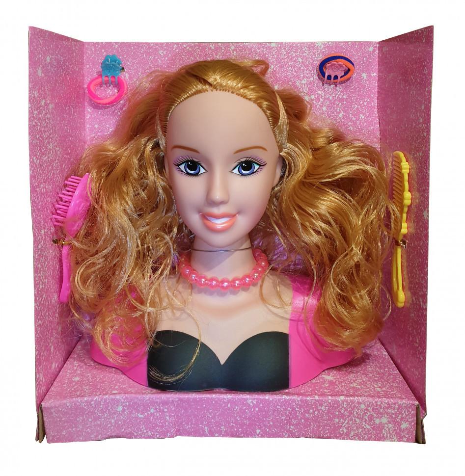 Кукла манекен голова для причесок.Детская игрушечная кукла.