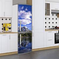 Виниловая наклейка на холодильник, Интерьерные наклейки на кухню, Самоклейка, 180 х 60 см, Лицевая (holSS1_pr11973 Природа)