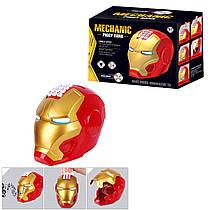 Іграшка Скарбничка - сейф з кодовим замком у вигляді Залізна людина супергероя, 6233