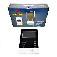 "Домофон Intercom V43D-M1 4,3"" (Black White) | Видеодомофон"