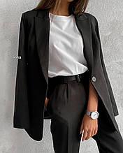 Костюм женский брючный классический. Размер: S-M и М-L. Цвет: беж, кемел, черный.