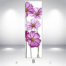 Наклейка для холодильника оклейка кухни Самоклейка, 180 х 60 см, Лицевая (holSS1_fl102929 Цветы), фото 3