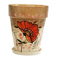 Горшок керамический для пересадки цветов  Кипарис 19,5 л