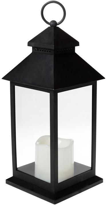 "Декоративный фонарь ""Ночной огонек"" с LED подсветкой 13.5х13.5х31.5см"