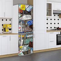 Виниловая наклейка на холодильник, Винил на холодильник, Самоклейка, 180 х 60 см, Лицевая (holSS1_ts11063 Хиты)