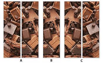 Виниловая наклейка на холодильник, Виниловые наклейки для холодильника, Самоклейка, 180 х 60 см, Лицевая (holSS1_ed11410 Еда), фото 3