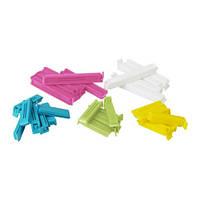 BEVARA Зажим для пакетов,30 штук, разные цвета, различные размеры