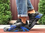 Мужские кроссовки Adidas Streetball (черно-синие) 9862, фото 2