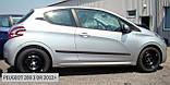 Молдинги на двері для Peugeot 208 3 Door Hatch 2012-2019, фото 2