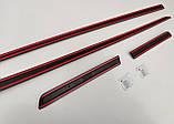 Молдинги на двері для Peugeot 208 3 Door Hatch 2012-2019, фото 7
