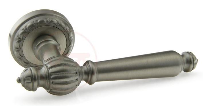 Дверная ручка для входной двери Fadex Demetra никель матовый (Италия)