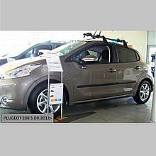 Молдинги на двері для Peugeot 208 5 Door Hatch 2012-2019