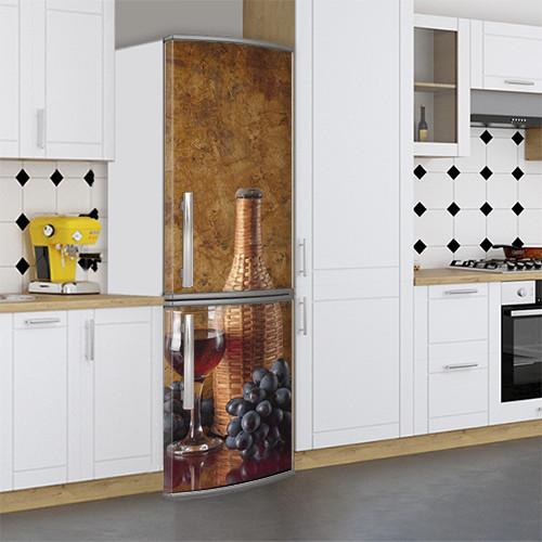 Виниловая наклейка на холодильник, Самоклейка, 180 х 60 см, Лицевая (holSS1_ed11766 Еда)