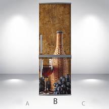 Виниловая наклейка на холодильник, Самоклейка, 180 х 60 см, Лицевая (holSS1_ed11766 Еда), фото 2
