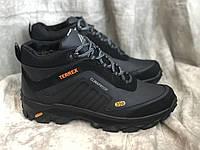 Шкіряні зимові черевики 45 розмір, фото 1