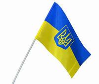 Флажки Украины на палочке, на присоске