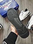 Мужские кроссовки Reebok Classiс White/Black (бело-черные) 530PL, фото 5