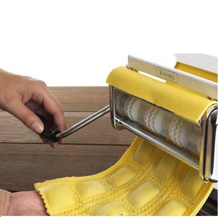 Набор лапшерезка - тестораскатка - пельменница Marcato Pasta Set, фото 2