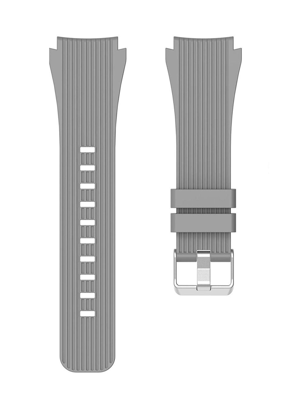 Ремешок силиконовый 22 мм BeWatch ECO2 для Xiaomi Amazfit Stratos | Pace | GTR 47mm  Серый (1012104.47)