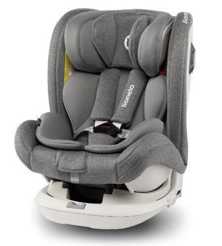 Детское автокресло для путешествий Lionelo Bastiaan RWF Stone grey 0-36 кг