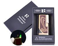 Зажигалка подарочная FANG-FANG (Турбо пламя) №3648-1