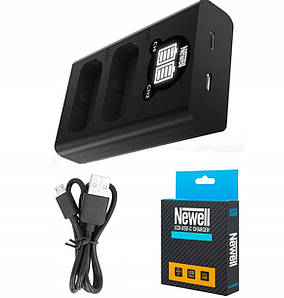 Двойное Зарядное устройство зу З\У Newell LCD-USB-С charger for BLF19