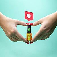 Smart GeI ТМ F.O.X (12 мл) прозрачный жидкий гель для укрепления ногтей