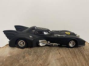 Машинка Бэтмобиль, чёрная классическая модель летучей мыши, фото 2