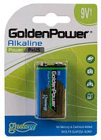 "Батарейка ""Крона"" GOLDEN POWER Power Plus BLI 1 Alkaline"