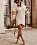 Платье женское из ангоры 42-44, 46-48, фото 3