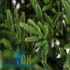 Ель искусственная Альпийская 2.1м, литая зеленая, фото 2