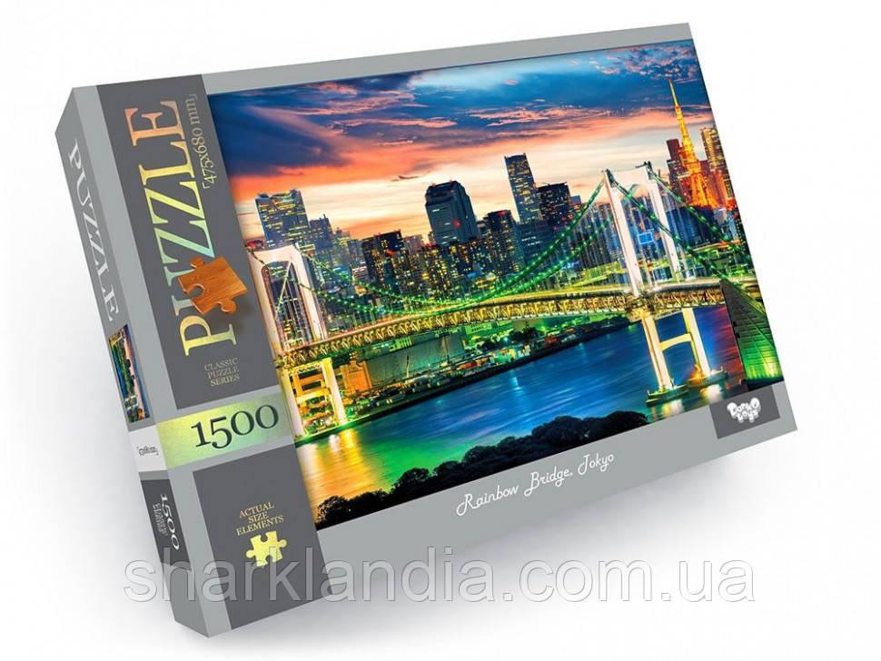 Пазлы 1500 элементов  C1500-04-01-10 (Радужный мост)